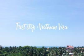 ▌越南 ▌申請越南簽證 Visa|越走越南 2015 (( 更新:2016 落地簽證 慳近400元♡ ))